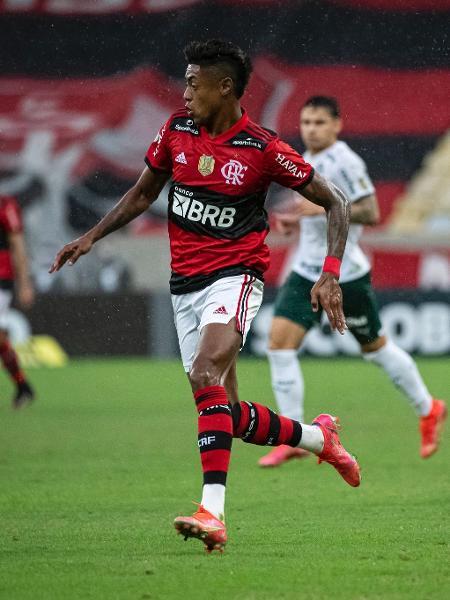 Bruno Henrique durante confronto entre Flamengo e Palmeiras - Alexandre Vidal / Flamengo