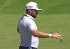 Descontrolou? Golfista quebra taco, xinga e mostra dedo do meio em torneio - Reprodução