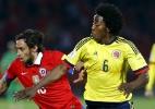 Valdivia lesiona coxa e desfalca Chile contra Peru nas eliminatórias