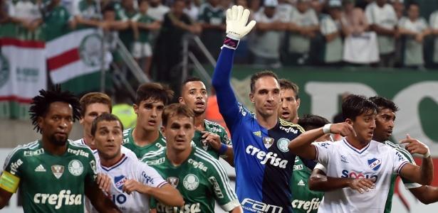 Goleiro palmeirense lamentou situação vivida no Uruguai - AFP PHOTO / Nelson ALMEIDA