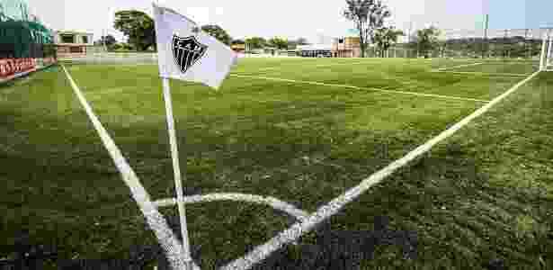 Atlético-MG tem um campo de grama sintética dentro da Cidade do Galo - Bruno Cantini/Clube Atlético Mineiro