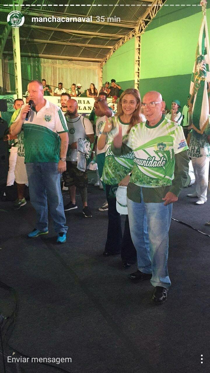 Leila Pereira José Roberto Lamacchia Paulo Serdan Mancha Verde
