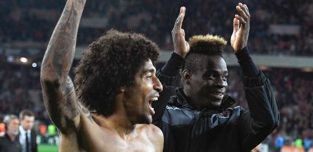 Balotelli vem fazendo boas atuações no Nice - AFP/Yann Coatsaliou
