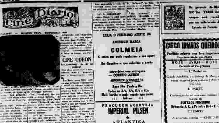 A proibição não significou o fim da prática do futebol por mulheres no Brasil, mas a tornou invisível na história - Arquivo Biblioteca Nacional do Rio de Janeiro - Arquivo Biblioteca Nacional do Rio de Janeiro