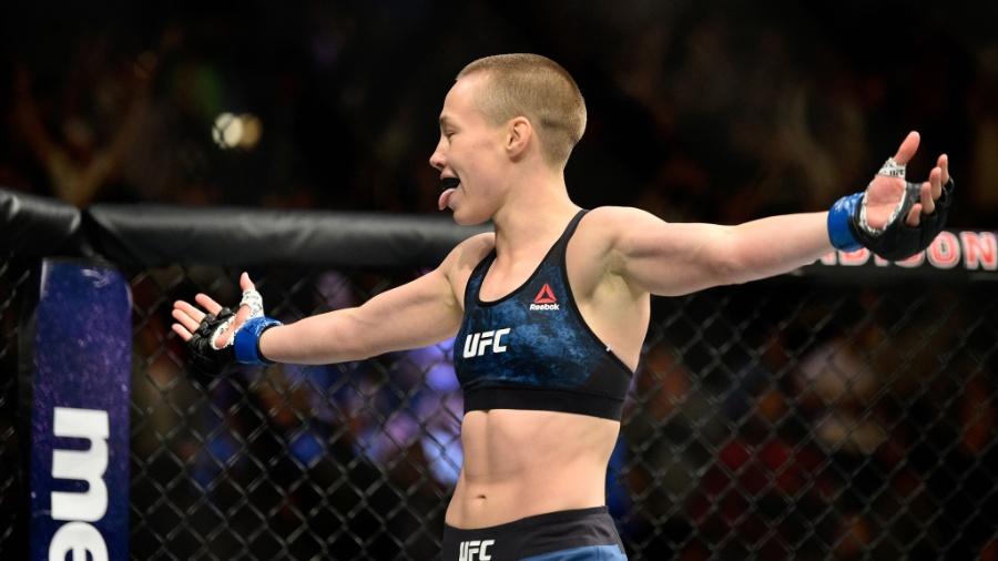 Rose Namajunas é a nova campeã peso palha do UFC - Jeff Bottari/Zuffa LLC/Zuffa LLC via Getty Images