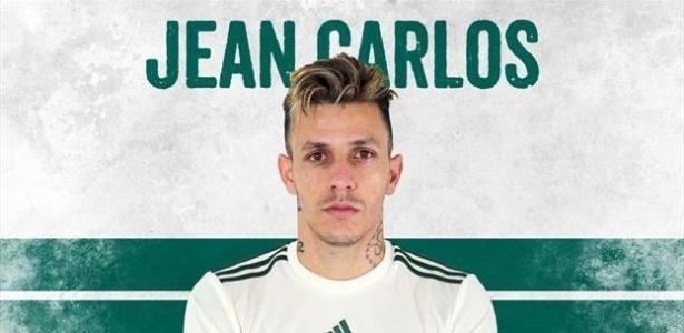 Jean Carlos foi confirmado pelo Coxa