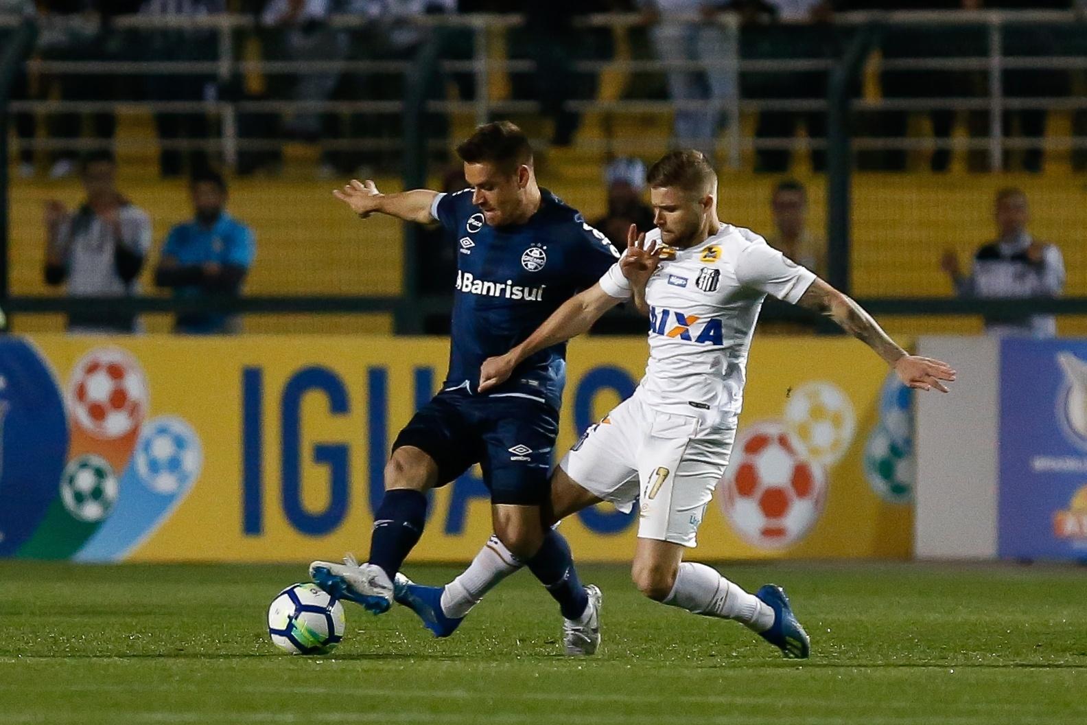 768370fda5ef1 Santos e Grêmio não saem do zero em empate ruim para os dois times -  06 09 2018 - UOL Esporte