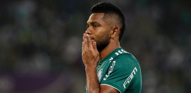 Borja lamenta após perder chance pelo Palmeiras contra o América-MG - Miguel Schincariol/Getty Images