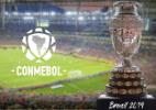 Fernanda Gentil e Tadeu Schmidt apresentam sorteio da Copa América 2019 - Reprodução/Twitter