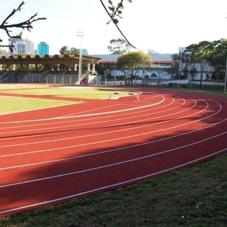 A pista de atletismo do Centro Olímpico de Treinamento e Pesquisa, em São Paulo, está entre as financiadas pelo governo federal - Divulgação