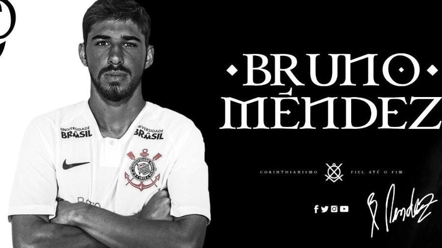 Bruno Méndez é anunciado oficialmente como reforço do Corinthians - Reprodução/Twitter