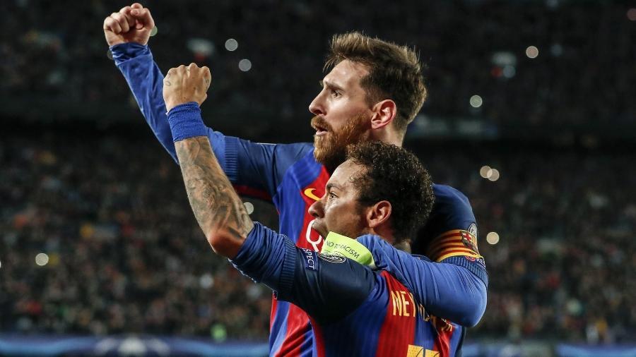 Neymar e Messi já jogaram juntos no Barcelona e podem retormar parceria - Xinhua/Hollandse-Hoogte/ZUMAPRESS