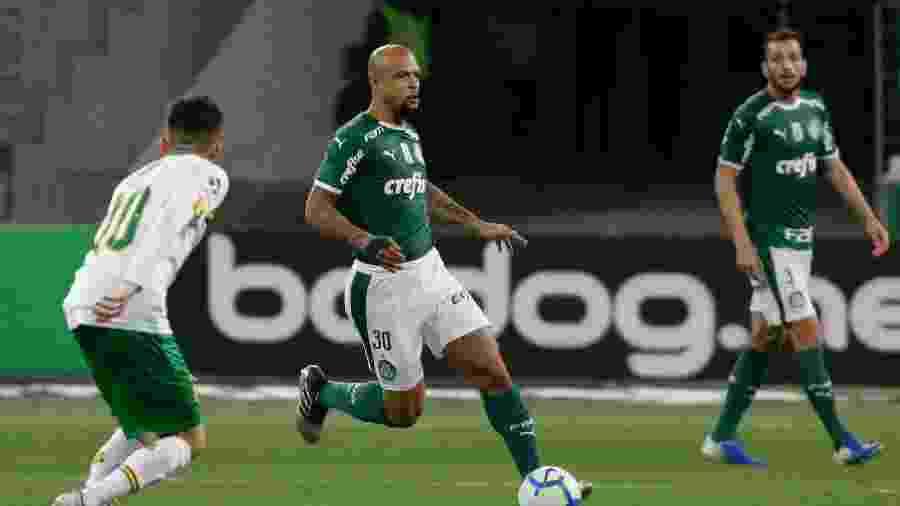 Felipe Melo durante Palmeiras x Sampaio Correa - Marcello Zambrana/AGIF