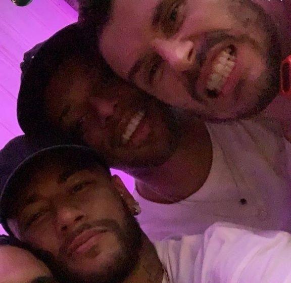Neymar, Gabriel Medina no aniversário de Bruninho