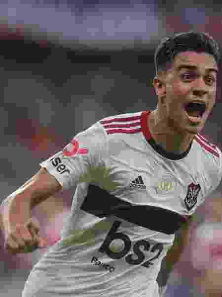Reinier comemora gol do Flamengo contra o Fortaleza - Alexandre Vidal/Flamengo