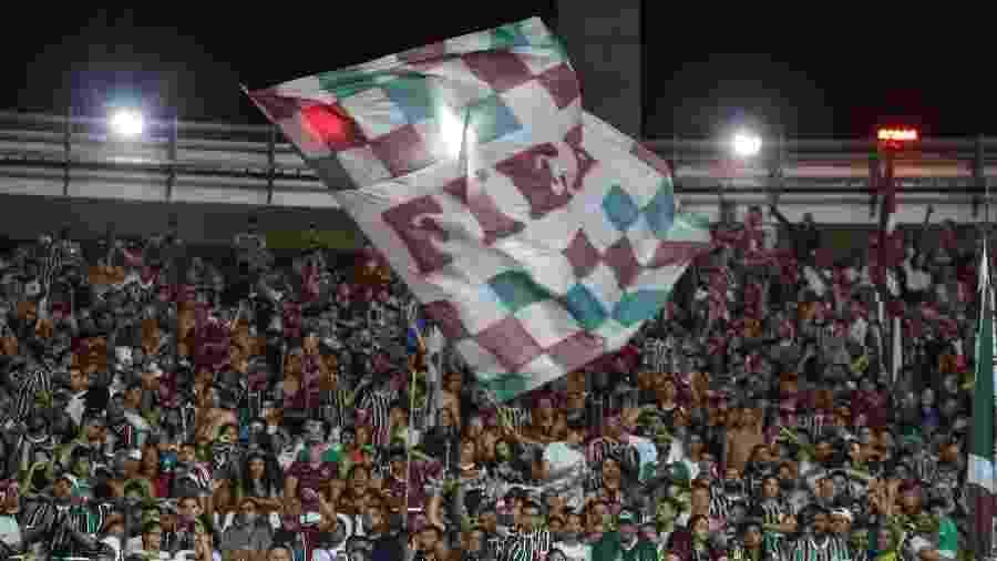 Fluminense teve de adiar lançamento do programa de sócio-torcedor por causa de pandemia - LUCAS MERÇON/ FLUMINENSE F.C.