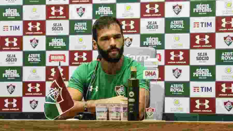 Muriel prometeu dedicação e força máxima no clássico contra o Flamengo - Lucas Merçon/Fluminense FC