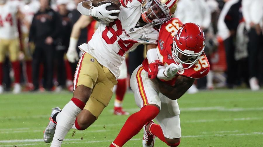 Kansas City Chiefs x San Francisco 49ers no Super Bowl 54 - REUTERS/Shannon Stapleton