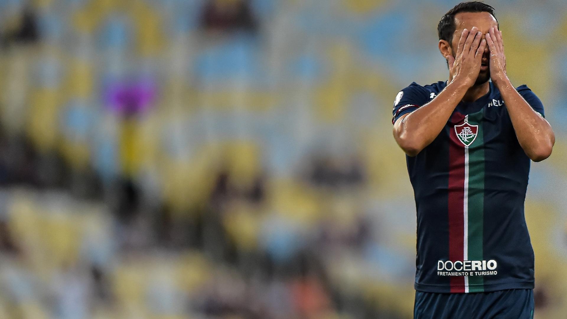 Nenê lamenta chance perdida no duelo entre Fluminense e Resende