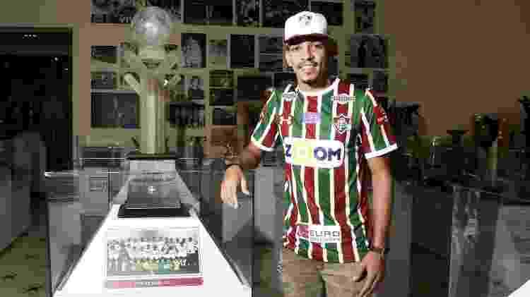 Gilberto foi anunciado como reforço do Fluminense no começo de 2018 - Mailson Santana / Fluminense