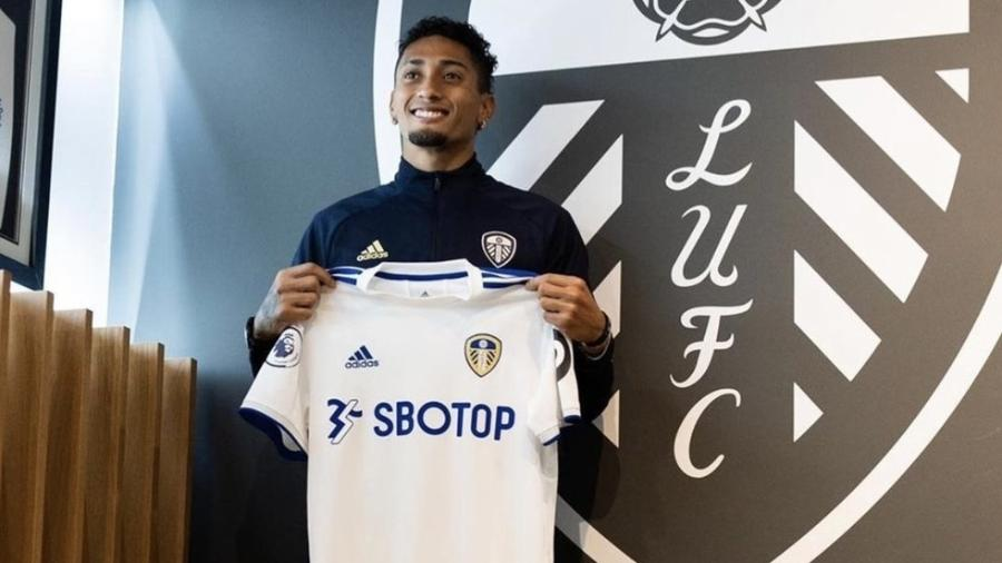 Revelado pelo Avaí, Raphinha foi contratado pelo Leeds United por cerca de R$ 127 milhões - Reprodução / Instagram