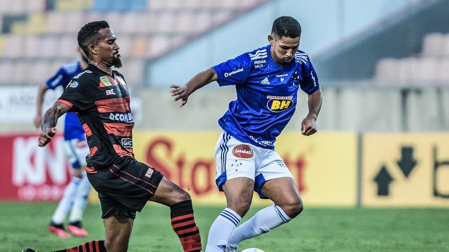 Zé Eduardo foi afastado por 30 dias com alteração cardíaca - Gustavo Aleixo/Cruzeiro