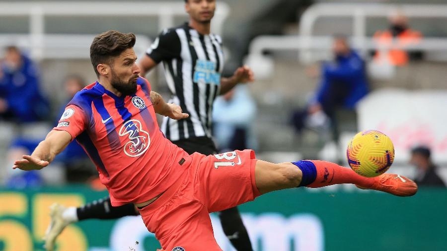 Giroud é alvo de Juventus e Milan no mercado da bola - Lindsey Parnaby / POOL / AFP
