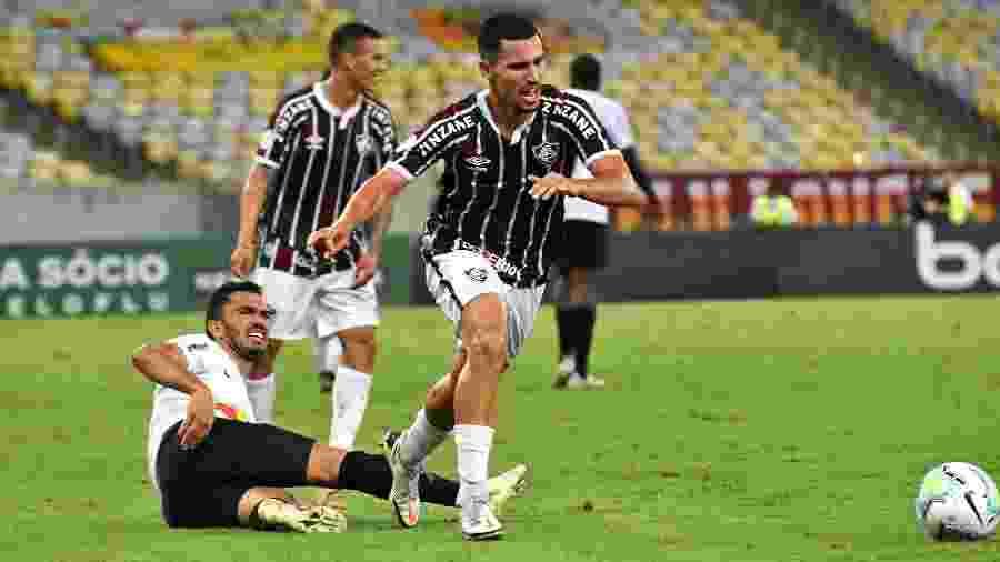 Martinelli foi muito bem em sua estreia como profissional no Fluminense e deve receber mais chances - Mailson Santana/Fluminense FC