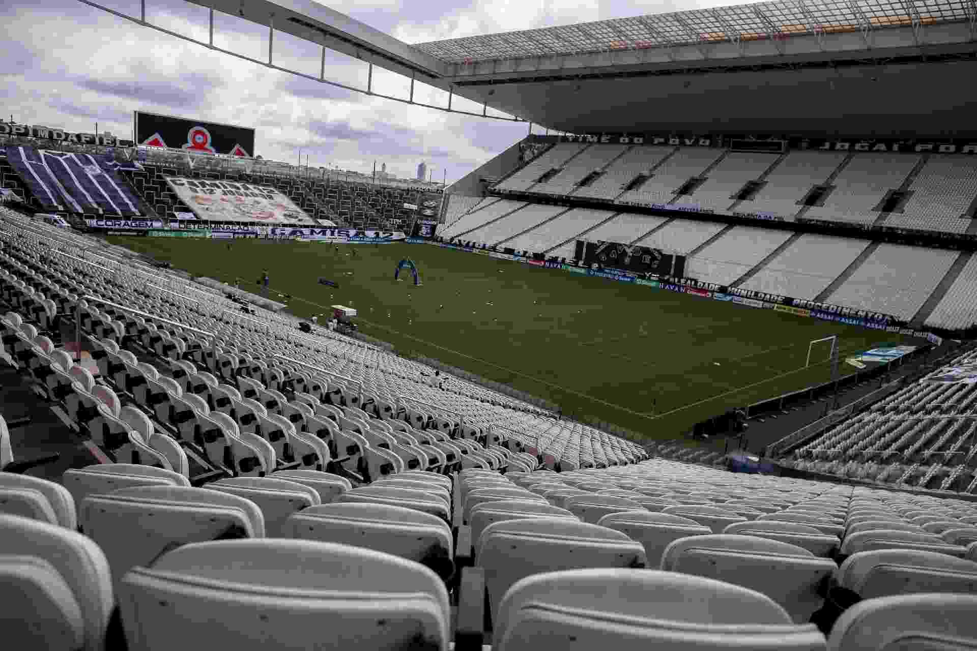 Corinthians enfrenta a Ponte Preta pela Campeonato Paulista - Ettore Chiereguini/AGIF