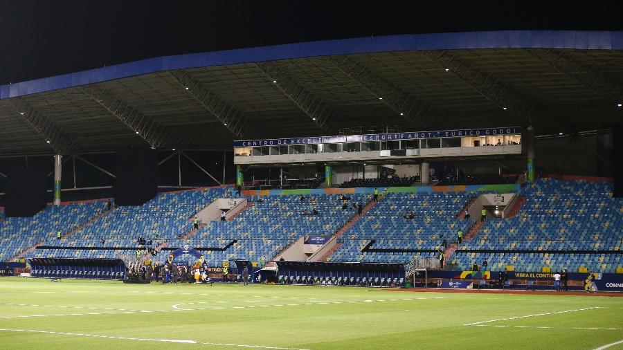 Estádio Olímpico, casa da Copa América em Goiânia - Heber Gomes/AGIF
