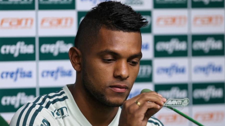 Miguel Borja volta ao Palmeiras depois de passagem pelo Junior Barranquilla - Cesar Greco / Fotoarena