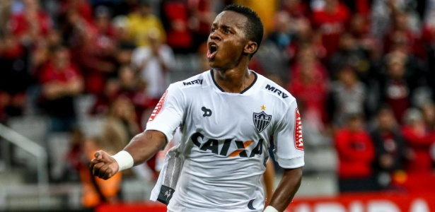 Cazares disputou dois jogos do Brasileirão pelo Atlético-MG e marcou dois gols