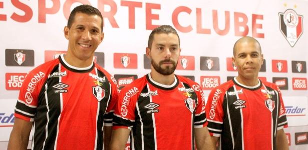 Trio é apresentado pelo Joinville