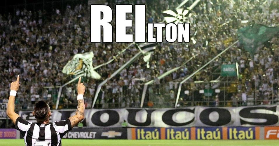 Torcida do Botafogo brinca com atuação de Neílton
