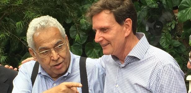 Eurico Miranda declarou apoio a Crivella e repudiou Marcelo Freixo