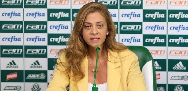 Leila Pereira foi eleita conselheira do Palmeiras recentemente