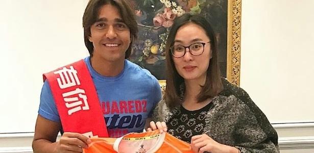 Wuhan Zall, da China, fechou contrato por duas temporadas com Moreno
