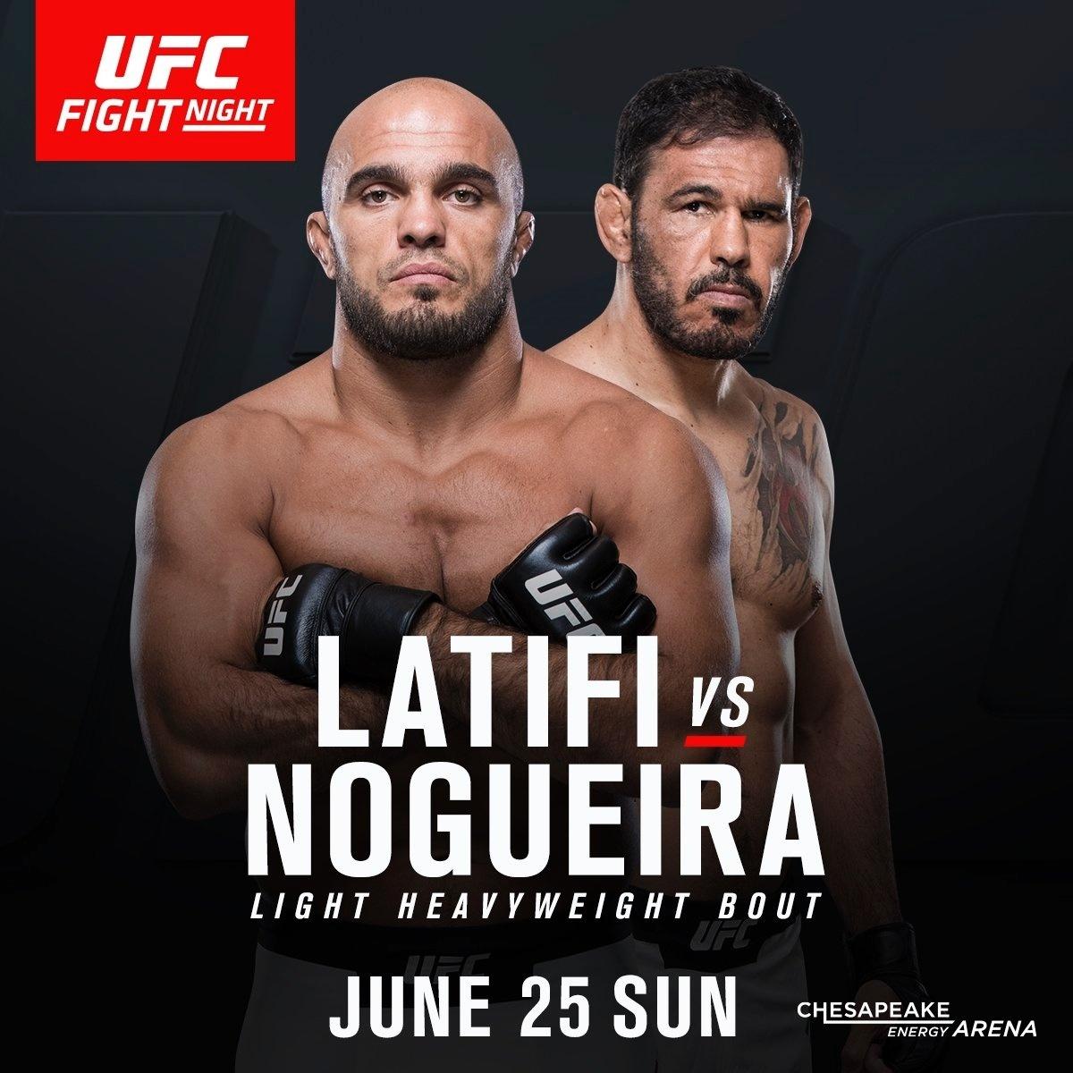 Minotouro enfrentará o sueco Latifi no UFC Oklahoma