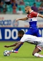 Bahia volta a vencer Sergipe e garante o Ba-Vi na semi da Copa do Nordeste (Foto: @ECBahia/Twitter)