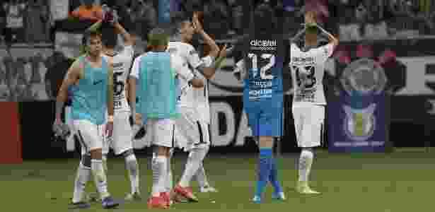 Jogadores do Corinthians celebram pontos conquistados em Salvador - Daniel Augusto Jr/Agência Corinthians - Daniel Augusto Jr/Agência Corinthians