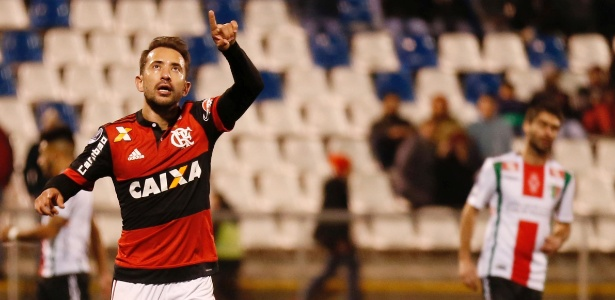 Everton Ribeiro está confirmado no time do Flamengo contra o Palestino-CHI