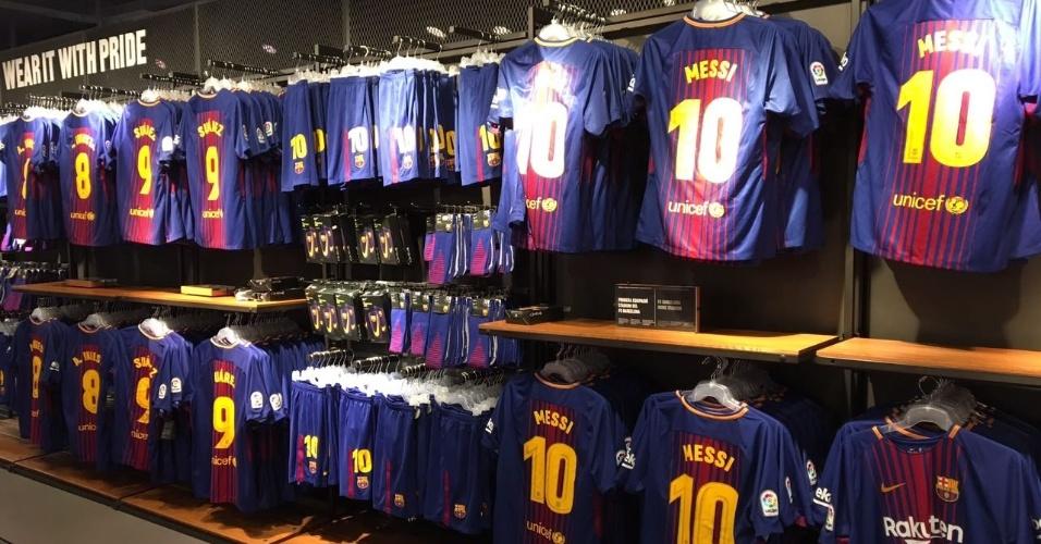 Loja oficial do Barcelona