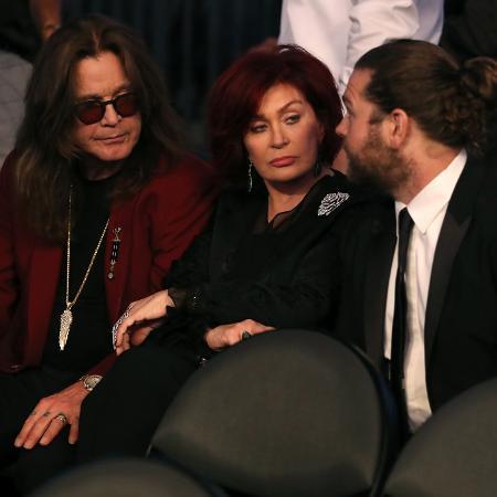 Ozzy, Sharon e Jack Osbourne - Christian Petersen/Getty Images