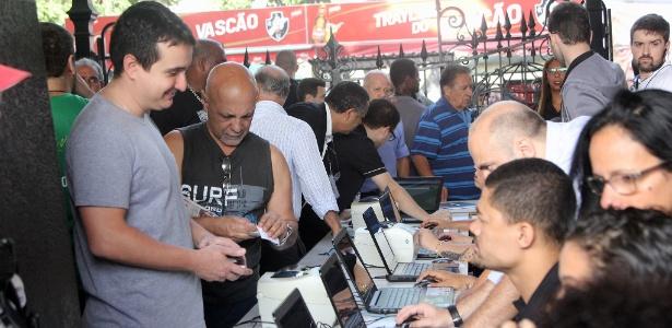 Eleição do Vasco foi marcado por confusões