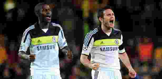 Ramires e Lampard comemoram - Shaun Botterill/Getty Images - Shaun Botterill/Getty Images