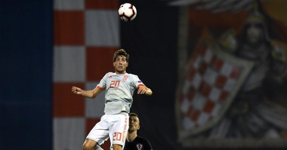 Perisic foi o melhor do primeiro tempo entre Espanha e Croácia