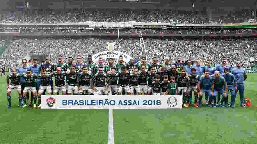Campeão brasileiro de 2018, Palmeiras pode ficar sem jogos na TV - Cesar Greco/SE Palmeiras