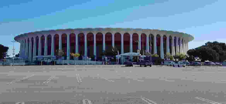 The Forum, o local do UFC 232, que será realizado sábado (29), em Inglewood - Vinicius Castro/ UOL