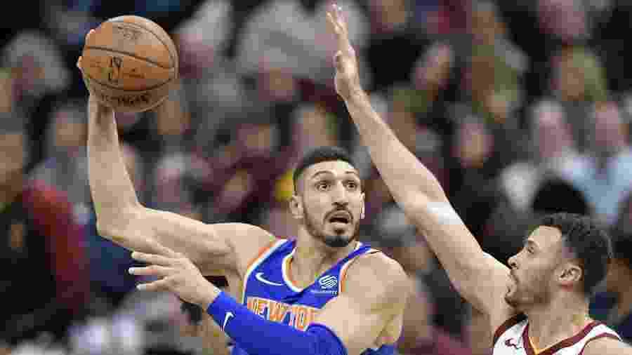Enes Kanter, pivô turco do New York Knicks - David Richard/USA TODAY Sports