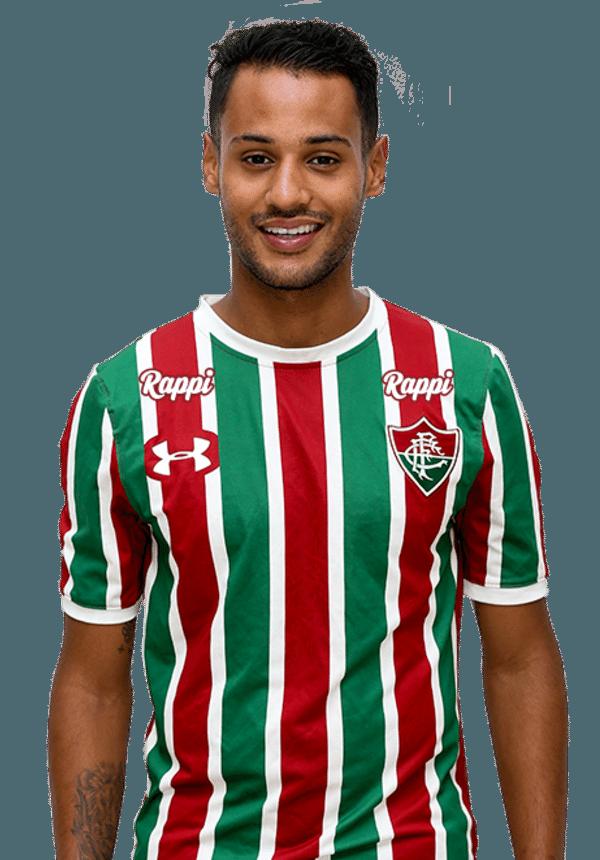 Matheus Gonçalves, atacante do Fluminense